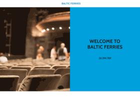 balticferrys.com
