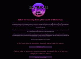 baltimorebarcrawl.com
