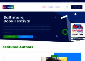baltimorebookfestival.com