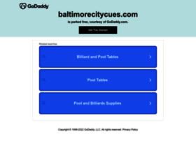baltimorecitycues.com