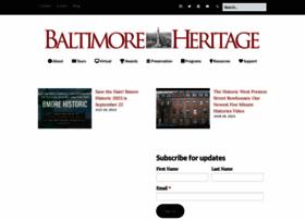 baltimoreheritage.org