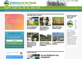 baltimoreonthecheap.com