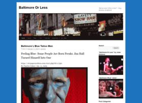 baltimoreorless.com