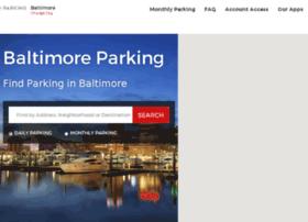 baltimoreparking.spplus.com
