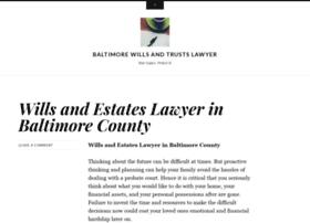 baltimorewills.wordpress.com