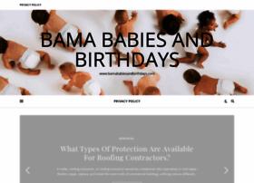 bamababiesandbirthdays.com
