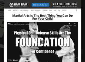 bambammartialarts.com