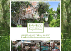 bambooguesthouse.co.za
