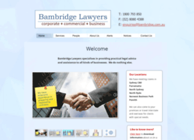 bambridge.com.au