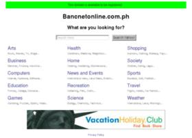 Bancnetonline.com.ph