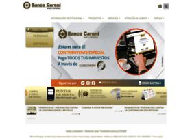 bancocaroni.com.ve