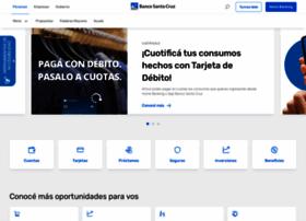 bancosantacruz.com