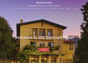 bancrofthotel.com