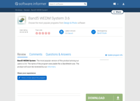 band5-wedm-system.software.informer.com