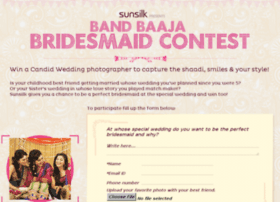 bandbaajabridesmaid.sunsilk.in