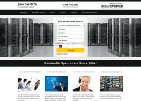 bandwidth.solveforce.com