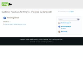 bandwidth.uservoice.com