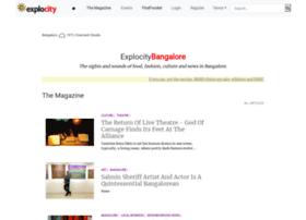 bangalore.explocity.com
