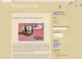 bangalore5property.blogspot.in