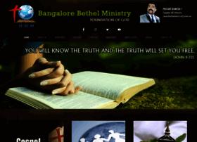 bangalorebethelministry.com
