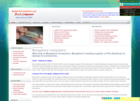 bangalorecomputers.com