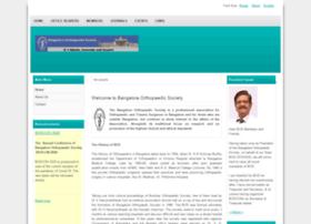 bangaloreorthopaedicsociety.com