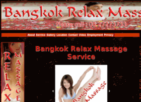 bangkokrelaxmassage.com