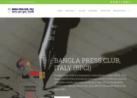 banglapressclubitaly.com