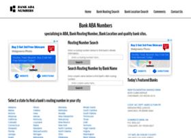 bankabanumbers.com