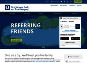 bankatfirstnational.com