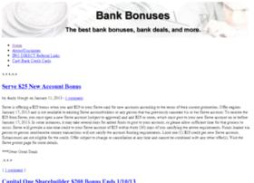 bankbonuses.info