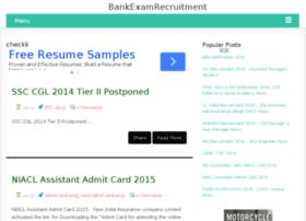 bankexamrecruitment.com
