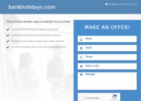 bankholidays.com