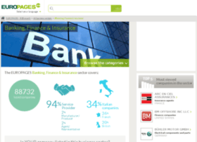 banking-finance-insurance.europages.co.uk