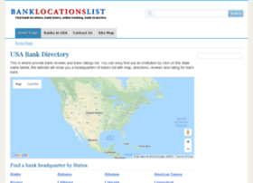 banklocationslist.com