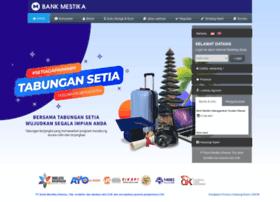 bankmestika.co.id