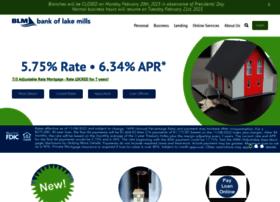 bankoflakemills.com