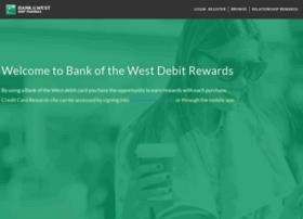 bankofthewestrewards.com