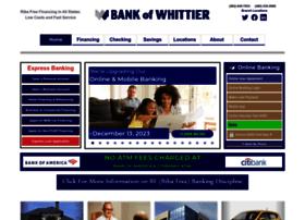 bankofwhittier.com