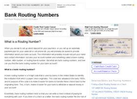 bankroutingnumber.net