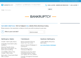 bankruptcy.lawyers.com