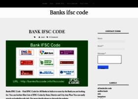 banksifsccodeinfo.blogspot.in