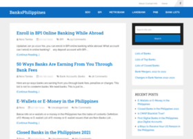 banksphilippines.com