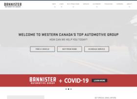 bannisterautomotivegroup.com