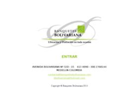 banquetesbolivariana.com