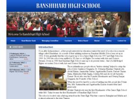 banshiharihighschool.org