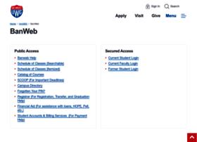 banweb.westga.edu