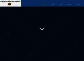 bappahelectricals.com