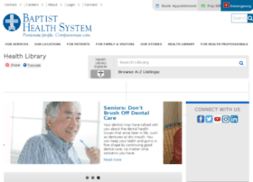 baptisthealthsystem.staywellsolutionsonline.com