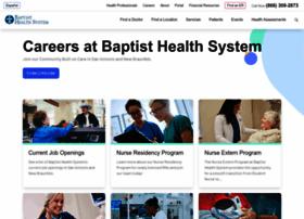 baptisthealthsystemcareers.com
